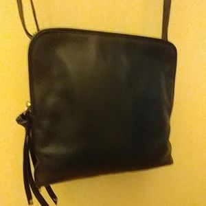 Banana Republic leather crossbody bag.